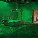 Printer in a Green Room by MClementReilly