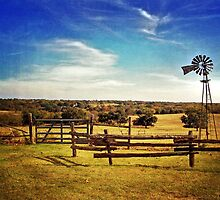 Oklahoma Farm by debidabble