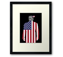 Tracking America Framed Print