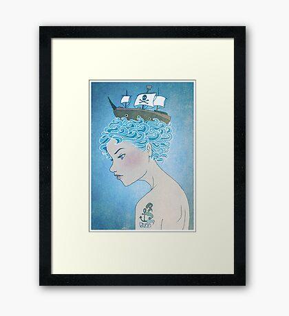 Sailor's Daughter Framed Print