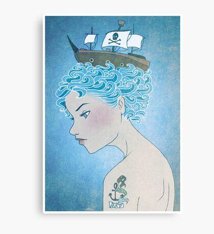 Sailor's Daughter Canvas Print