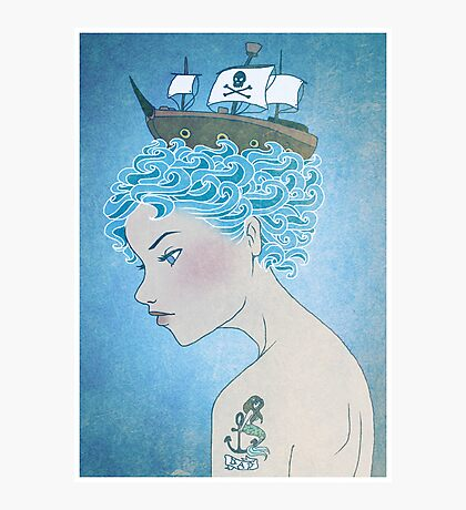 Sailor's Daughter Photographic Print