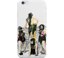 Mermaids in the 1930s iPhone Case/Skin