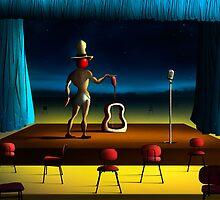 O Violonista. by Marcel Caram