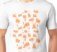 Weebeasts (orange + green) T-Shirt