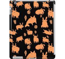 Weebeasts (orange + green) iPad Case/Skin