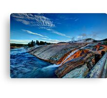 Into the Firehole River Canvas Print