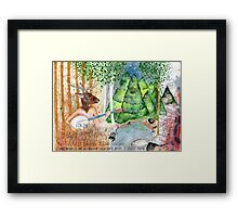 Towers Framed Print