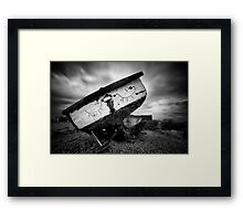 Let Sleeping Boats Lie Framed Print
