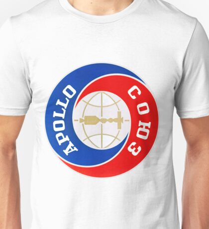Apollo–Soyuz Mission Logo Unisex T-Shirt