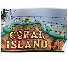 CORAL ISLAND . Poster