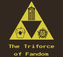 The Triforce of Fandom (Superwholock) by porcupine8