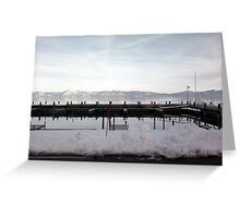 Another View of Scenic lake Tahoe, CA, USA Greeting Card