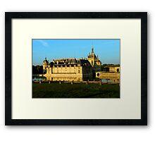 Chantilly Castle, France Framed Print