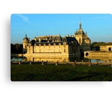 Chantilly Castle, France Canvas Print