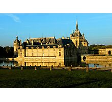 Chantilly Castle, France Photographic Print