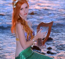 Musical Mermaid by AlynnArts