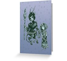 Krampus  Greeting Card