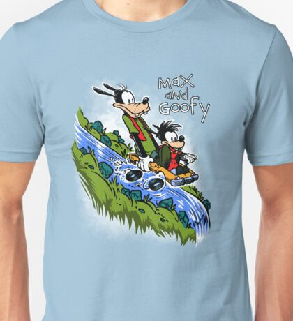 Max and Goofy Unisex T-Shirt
