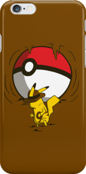 Pikachu Jones by KentZonestar