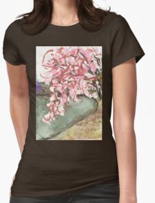 cherry blossoms over water T-Shirt