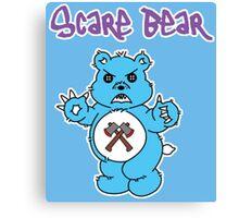 Scare Bear Canvas Print