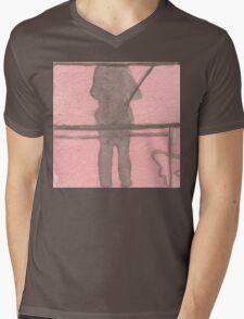 shadow selfie Mens V-Neck T-Shirt