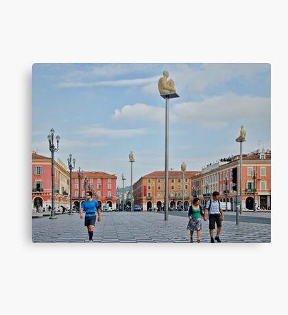 Massena Square in Nice, France Canvas Print