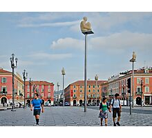 Massena Square in Nice, France Photographic Print