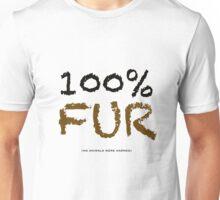 100% FUR Unisex T-Shirt