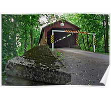 A New View of America's Oldest Covered Bridge Poster