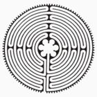 Chartres Labyrinth by symbols