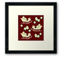 Christmas Sleigh & Presents #3 Framed Print