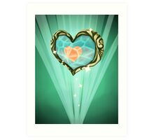 Heart Container Art Print