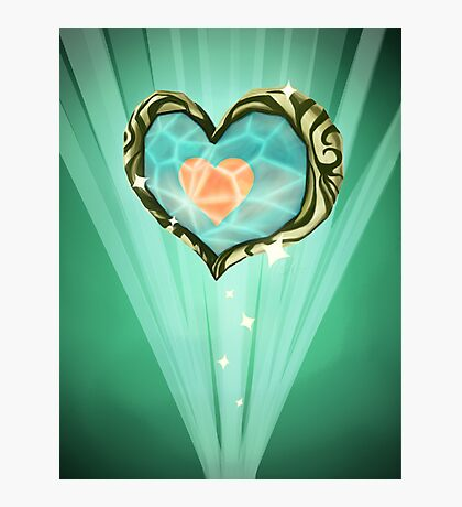 Heart Container Photographic Print