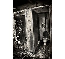 The poor mans throne Photographic Print
