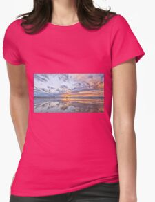Riding the sunset Womens Fitted T-Shirt