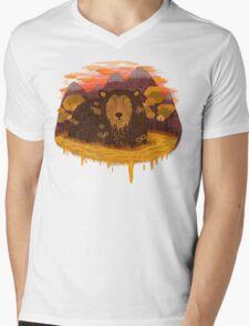 HONEY HIBERNATION Mens V-Neck T-Shirt