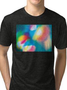 Abstract - illuminate Tri-blend T-Shirt