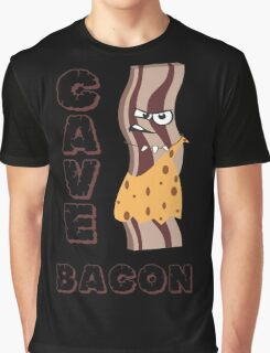 Fierce Cave Bacon Graphic T-Shirt