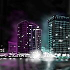 Hazy city nights art case by 13thstreet