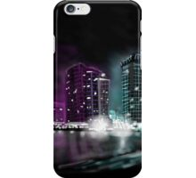 Hazy city nights art case iPhone Case/Skin