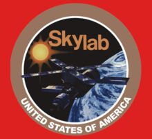 Skylab Program Logo Baby Tee