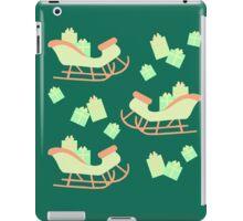 Christmas Sleigh & Presents #5 iPad Case/Skin