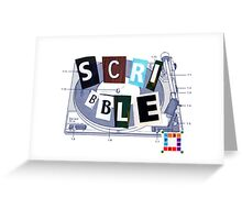 Scribble. Greeting Card