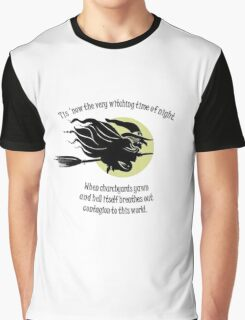 'Tis Now The Witching Time Of Night Graphic T-Shirt