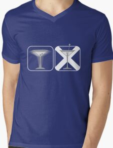 Shaken, Not Stirred Mens V-Neck T-Shirt