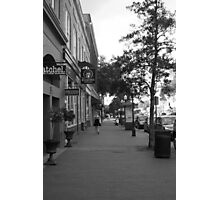 Downtown Savannah Photographic Print