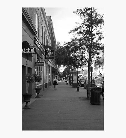 Downtown Savannah Photographic Print