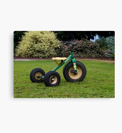 Little Tricycle  Canvas Print